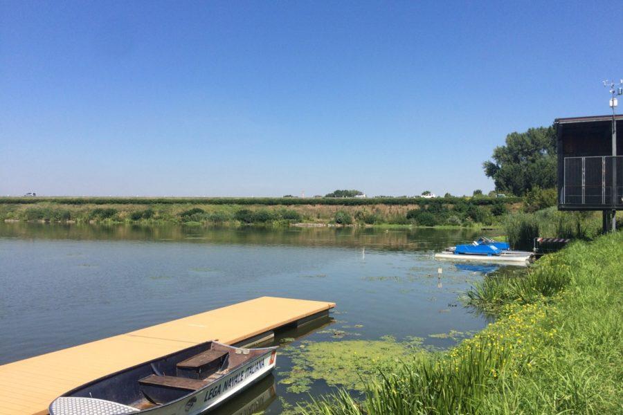 Sopralluogo al Campo Canoa di Mantova per la partenza dell'1 Settembre