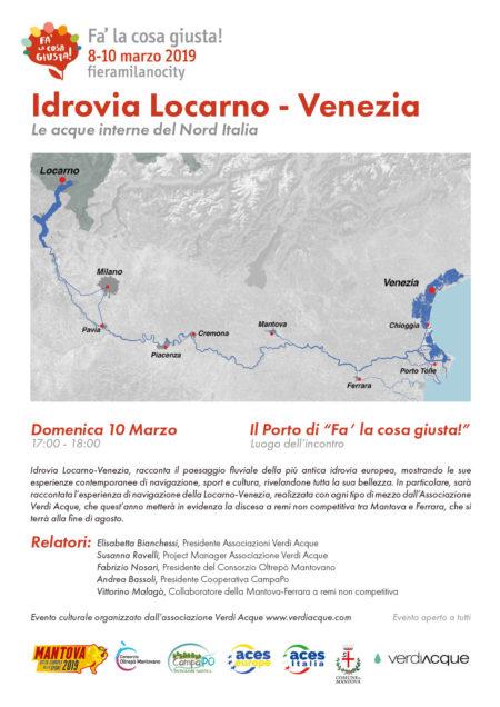 Idrovia Locarno – Venezia. Le acque interne del Nord Italia